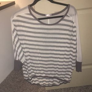 Tops - Stripped slouchy tunic